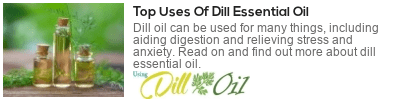 uses of dill oil