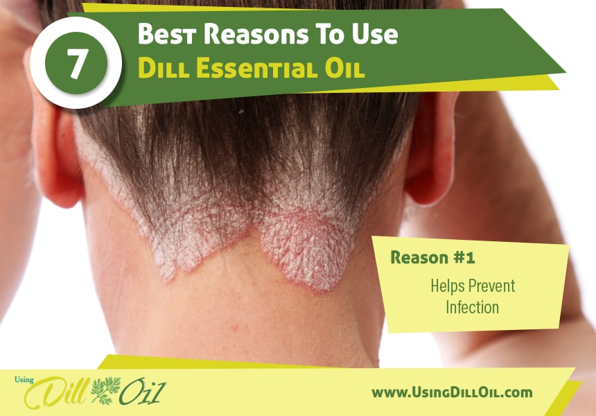 dill oil for infections