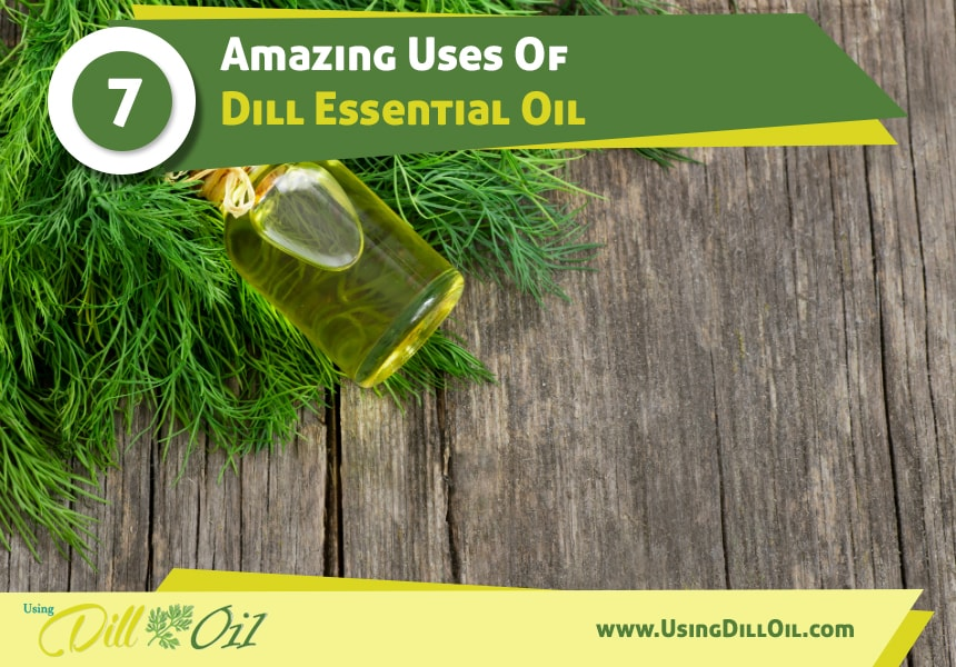 dill oil for stress